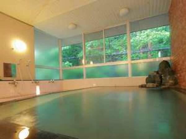 【大浴場】中央アルプスの麓に湧く温泉をお楽しみください