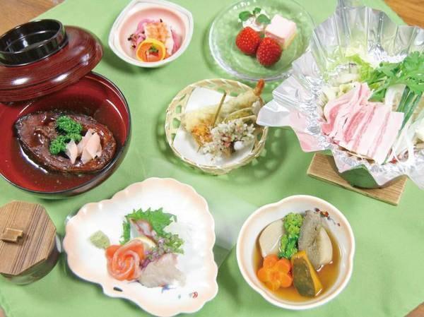 【夕食/例】四季折々の創作料理や郷土料理を堪能