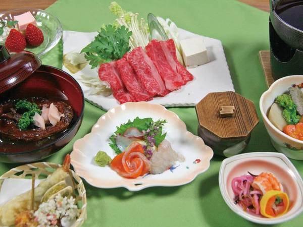 【夕食/例】地元ブランド牛「蓼科牛」を食す!