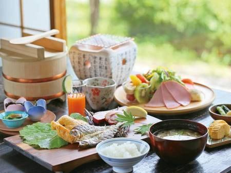 【朝食/例】静けさのなかで木曽の大地と自然の恵みを味わう