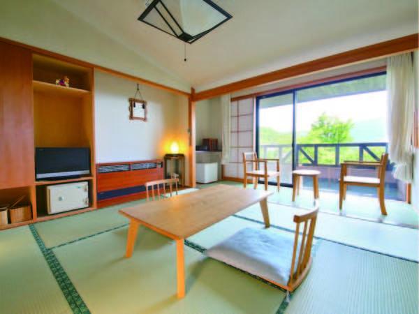 【通常和室/例】木曽の自然に包まれる10畳和室で高原リゾート満喫
