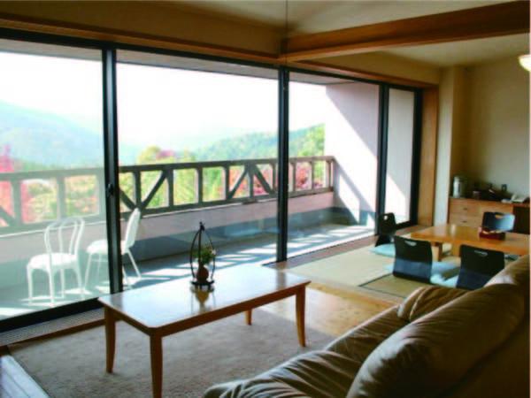 【特別室/例】リビング+二間和室(10+8畳)1室7名まで宿泊可