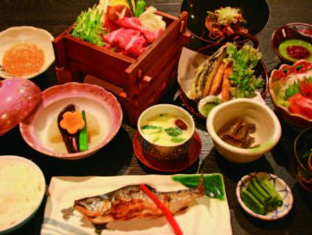 【夕食/例】 蒸篭料理メインの和会