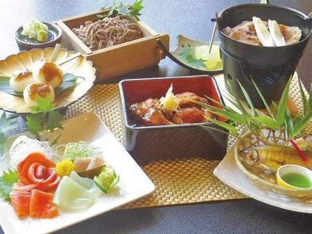 【南信州田舎料理プラン/例】五平餅、信州蕎麦、鯉料理など南信の幸