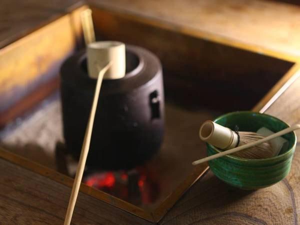 囲炉裏端/抹茶サービスございます(有料/500円税抜)