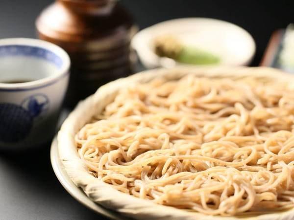 <基本>信州こだわり会席コース一例/手打ちの蕎麦は搾りたての地元産生わさびを添えて