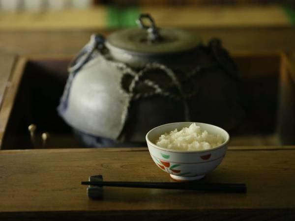 朝食バイキング一例/白飯は長野県産を使用しております