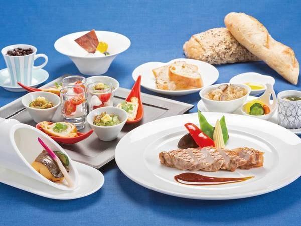 【和洋創作料理コース/例】和の素材を取り入れた和洋創作料理を堪能