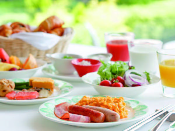 【朝食/例】那須御用卵を使用したスクランブルエッグ・焼きたてパンが好評