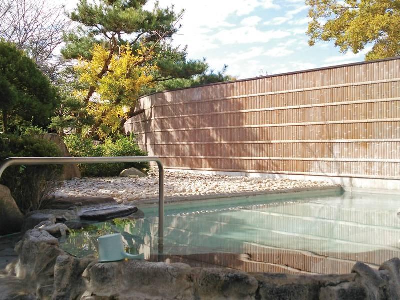 【露天風呂】日本三大美肌の湯を堪能!※露天のご利用は22時まで