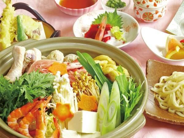 【塩ちゃんこ鍋/例】季節野菜たっぷり!みんなでワイワイ楽しめる鍋プラン