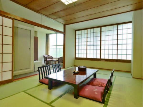 【和室/例】12畳以上のゆったりとしたお部屋(全室禁煙)