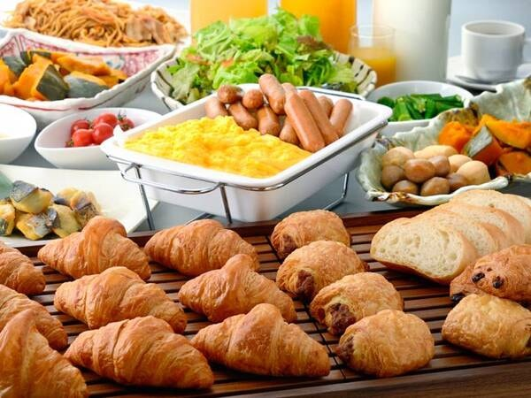 朝食ブッフェ/例