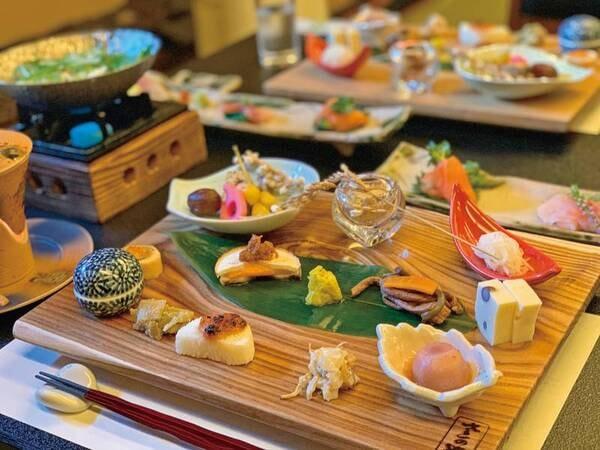 【美肌の湯と創作和食で上品な時間を過ごす1泊2食付プラン/例】