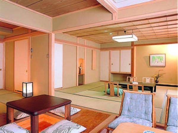 【客室/例】贅沢な造りの次の間付き特別室