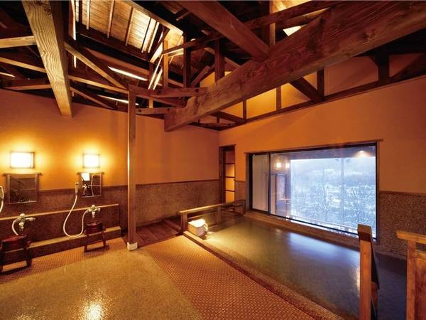 【妙高・山里の湯宿 香風館】眺めのいい露天風呂と山海の幸料理が自慢の温泉宿。