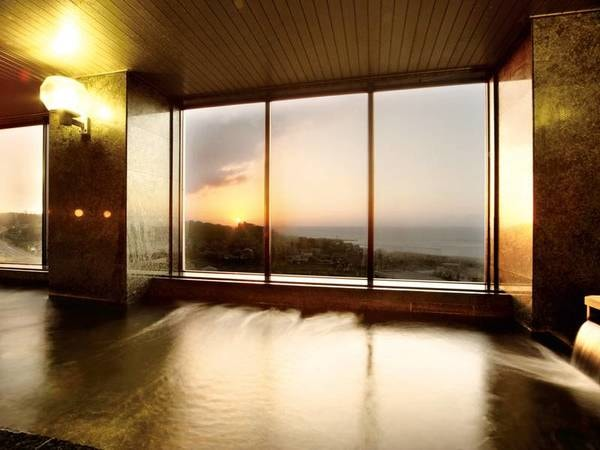 【鯨波松島温泉 メトロポリタン松島】日本海一望の展望温泉あり!晴れた日には佐渡島も臨む グルメグランプリ受賞経験のあるの茶漬けをぜひ一度!