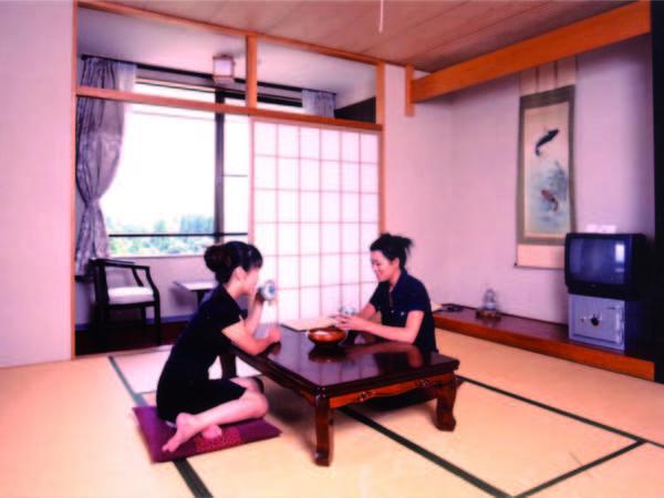 【客室/例】10畳以上の広さの和室をご用意