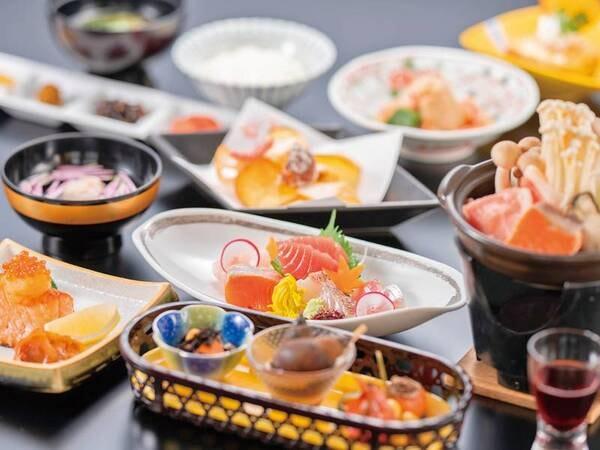 【お手軽会席/例】日本海鮮魚お造りなど寺泊の海の幸を使った会席