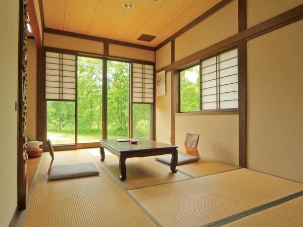 和室8~10畳お任せで野鳥のさえずりが聞こえる和室♪