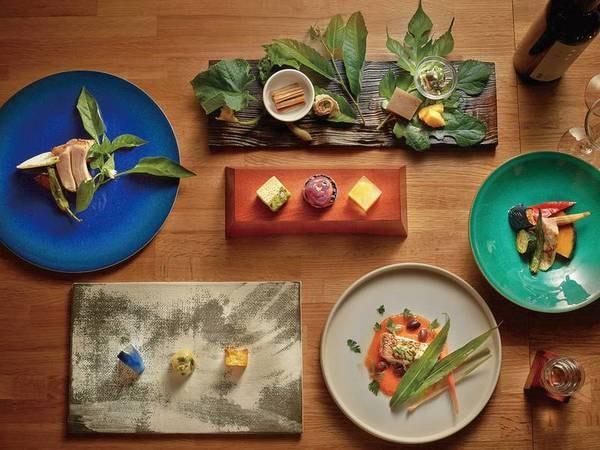 【夕食一例】雪国ガストロノミー フルコースプラン