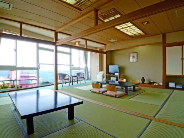 【二間和室/例】広々とした客室。グループ旅行にもおすすめ