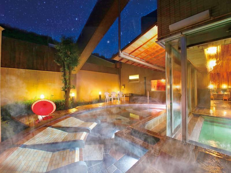 【露天風呂】開放的な露天風呂