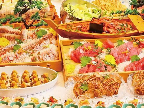【バイキング/例】お刺身やお寿司など季節替わりのバイキング