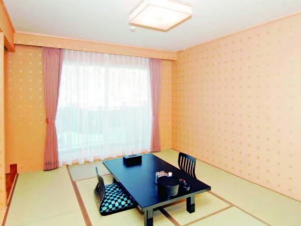 【山側眺望の和室(10畳)/例】落ち着きのある和空間