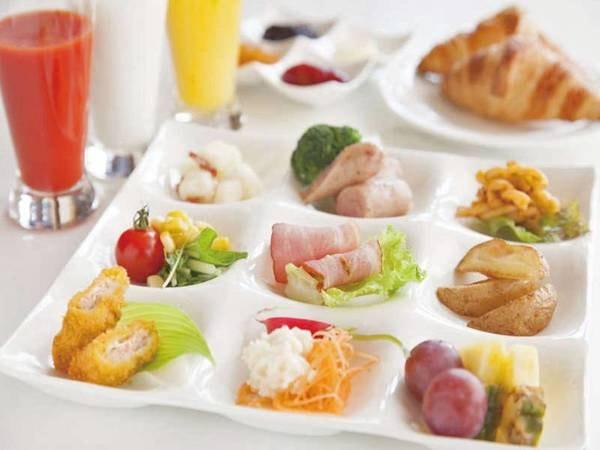 【朝食/例】和洋バイキングまたはセットメニュー