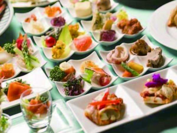 【夕食・ブッフェ選択時/例】オール北海道をコンセプトにバラエティ豊かな料理