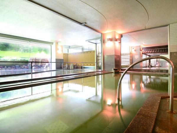 【地下1階大浴場/食塩泉】多彩な湯船で湯巡り気分♪