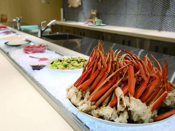 【和洋中約60種ビュッフェ/例】函館ならではの海の幸と、旬の味覚を堪能!