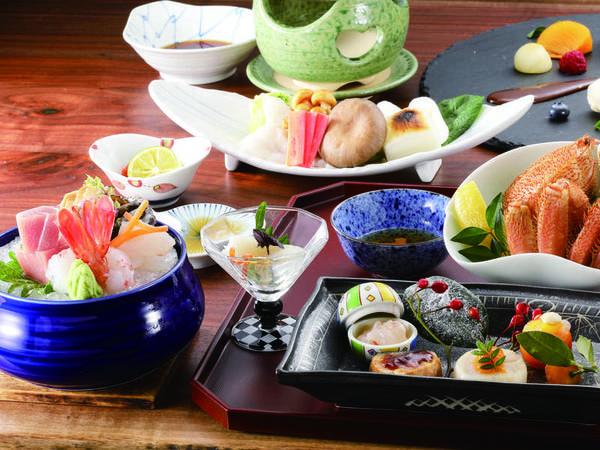 【旬の和会席/例】函館が誇る海の幸を満喫できる会席