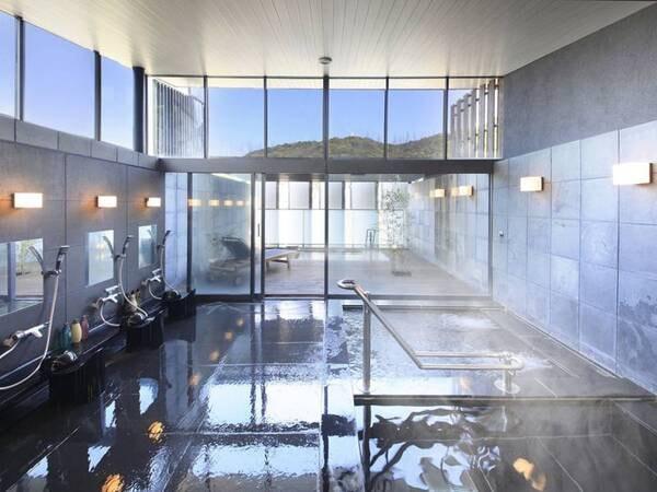 【温泉大浴場】朝風呂もおすすめ(一例)