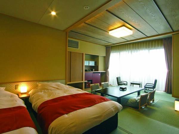 【客室/例】和室にツインベッドを設えたコンフォートツイン客室