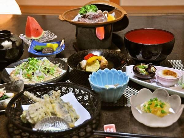 【夕食/例】季節替わりの会席料理