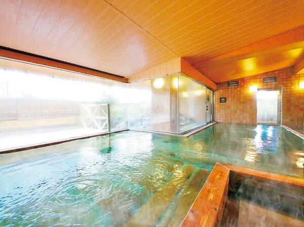 お風呂-檜の湯(大浴場)