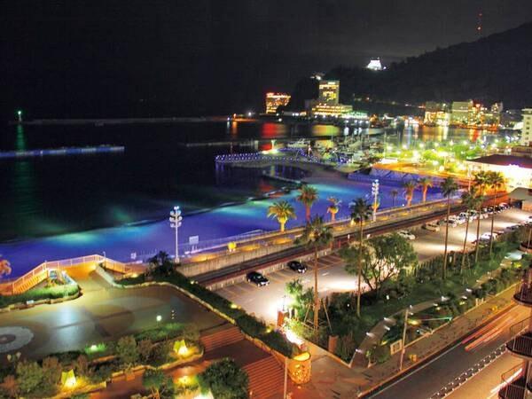 【熱海シーサイドスパ&リゾート】全室オーシャンビューのリゾートホテル。リニューアルした客室、源泉かけ流しの天然温泉、ナチュラルリゾートをコンセプトに生まれ変わった和洋ビュッフェを愉しむ