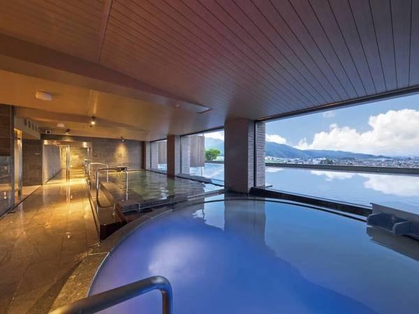 【信州松本 美ヶ原温泉 翔峰】絶景を望む展望風呂が魅力。高台に佇む極上のおもてなし宿。