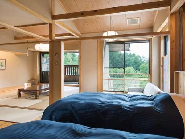 【特別室】露天風呂付和洋室/一例