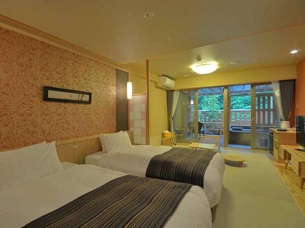 「粋彩」33平米露天風呂付和洋室/一例