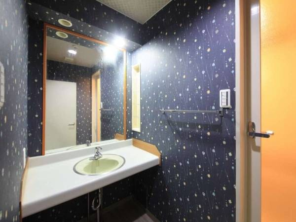 全室独立式の洗面台付き