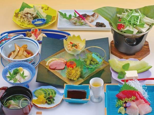 豆腐料理プラン/夕食一例