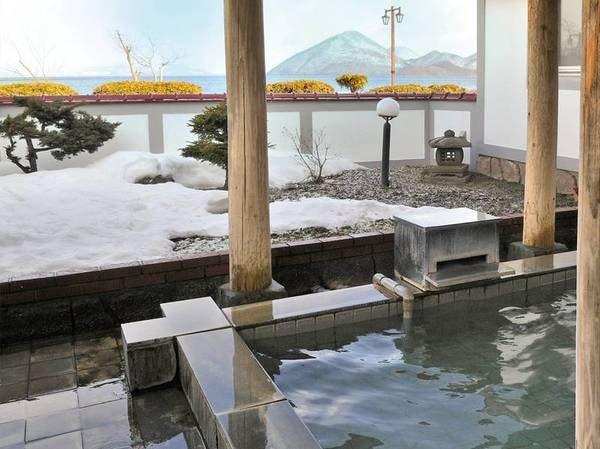 【洞爺湖温泉 北海ホテル】源泉かけ流しの庭園露天風呂のある和風旅館で、洞爺湖の四季折々の変化を感じる
