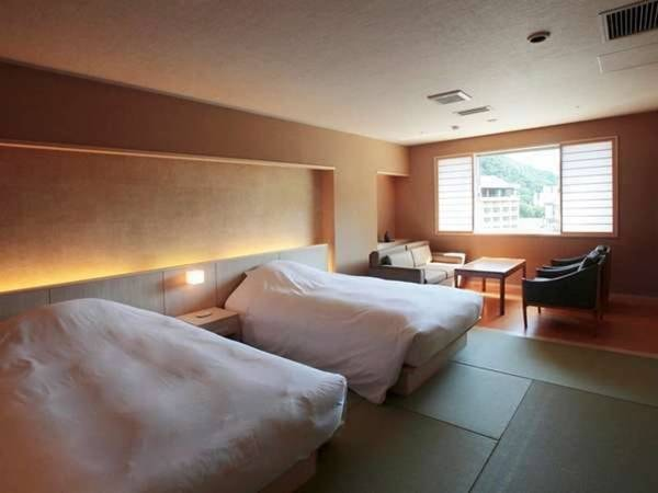 展望風呂付90平米和洋室6・7階フロア/一例