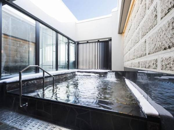 小樽運河の湯 展望大浴場(露天風呂)