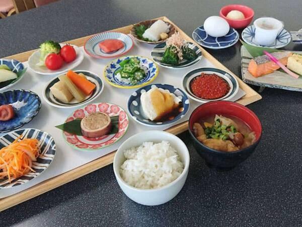 【朝食/一例】新型コロナウィルス収束までは和定食をご用意いたします