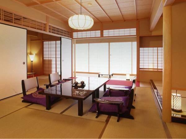 【純和風客室『ハイグレードタイプ』/例】和室18畳または和室15畳+6畳