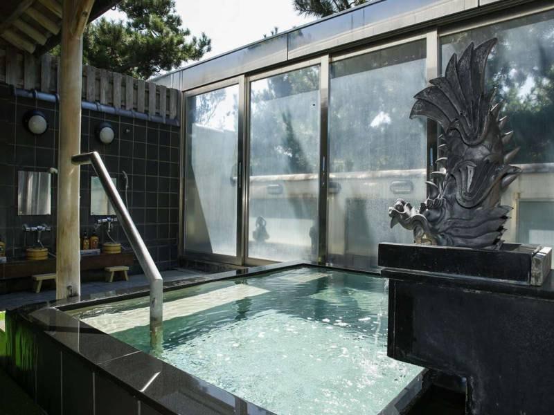 【露天風呂】美人の湯 うずしお温泉でゆっくりと疲れを癒す
